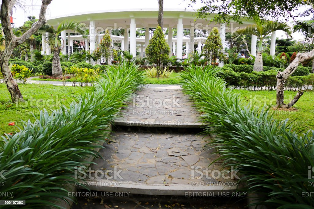 Garden Fatmawati Wonosobo, Natural Park, Temple, Wonosobo city, Indonesian | Asian - Royalty-free Architecture Stock Photo