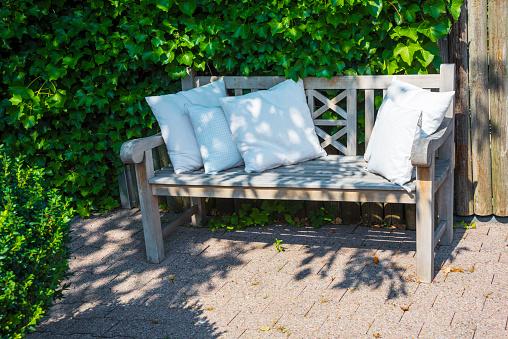 Garden furniture bench