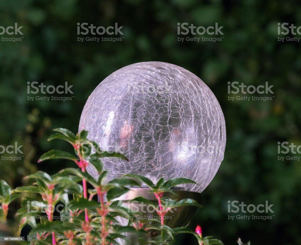Garten Kugel Leuchte Stockfoto Und Mehr Bilder Von Abenddämmerung