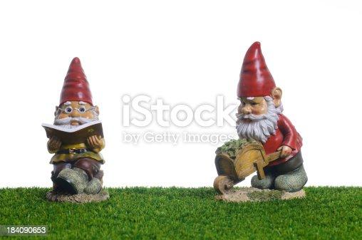 Garden Gnomes working