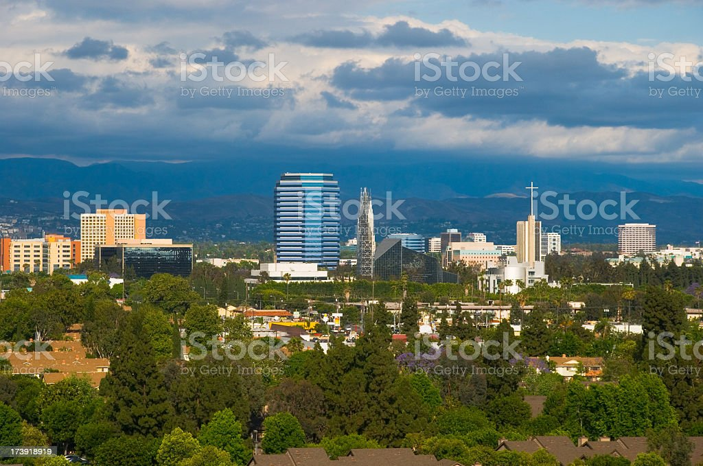 Garden Grove, CA stock photo