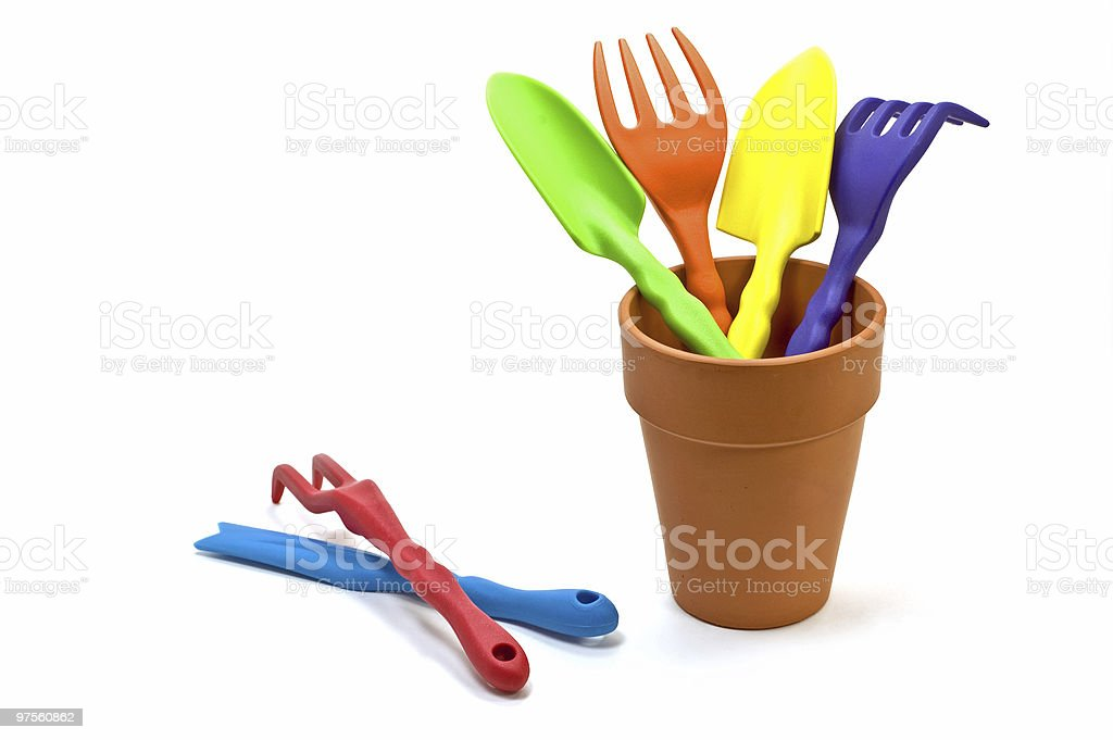 Garden hand tools royalty-free stock photo