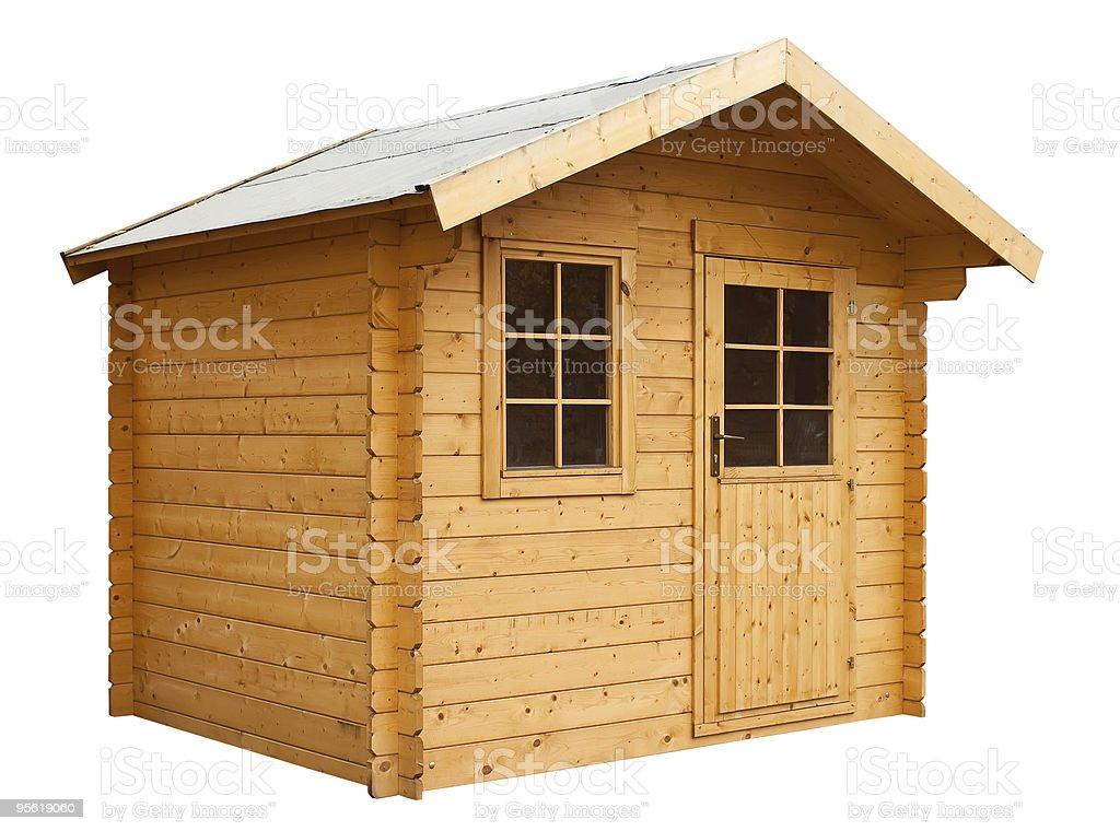 Garden house stock photo