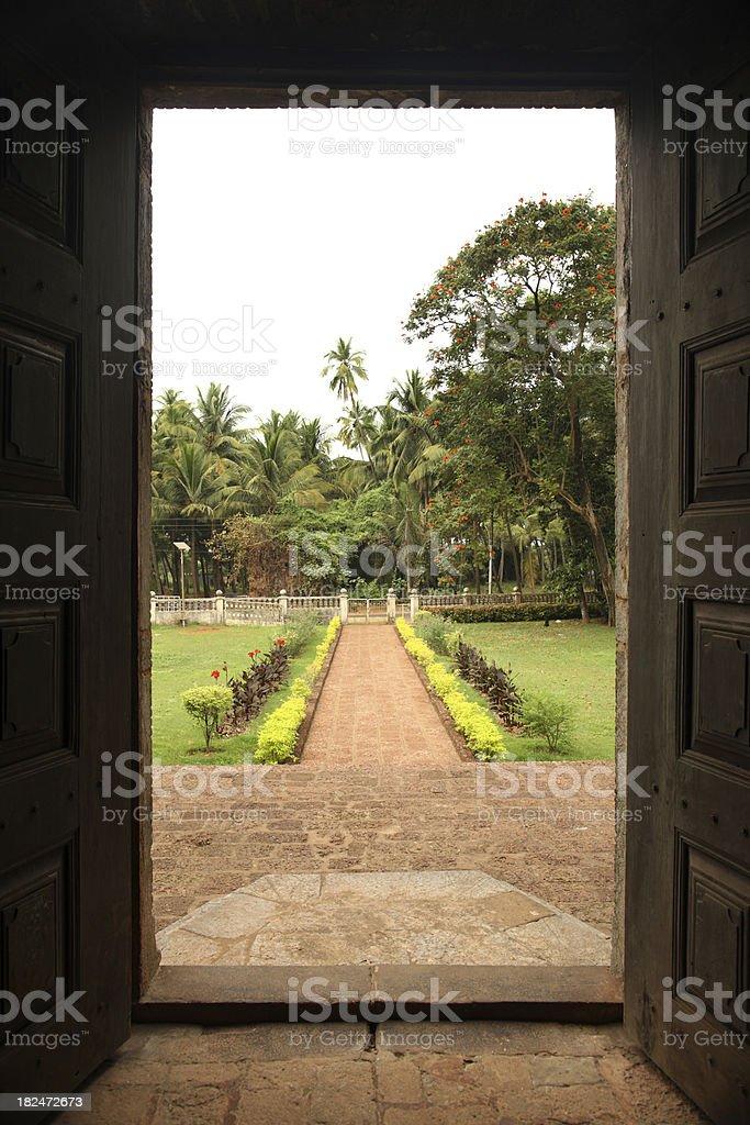 Jardín de Goa - foto de stock