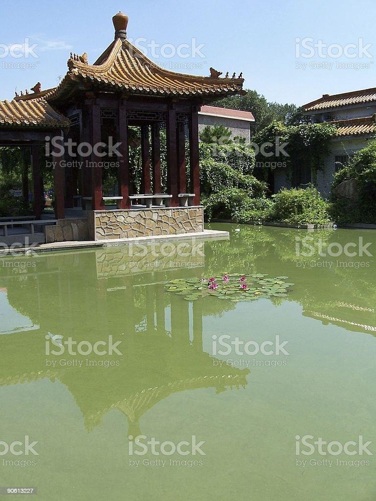 garden in shenyang china royalty-free stock photo