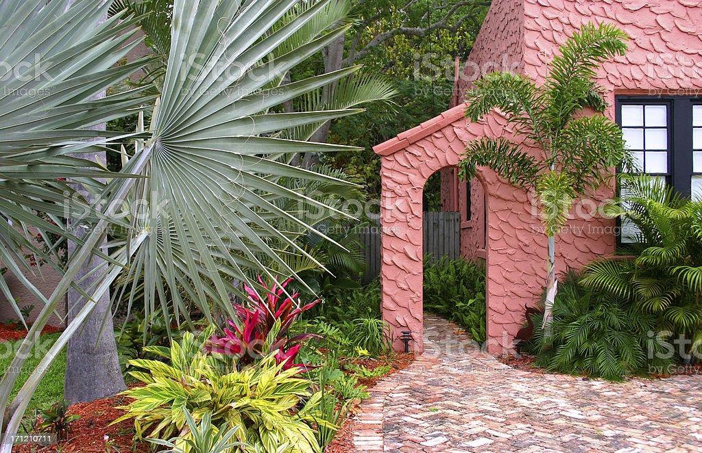 Garden in the Tropics royalty-free stock photo