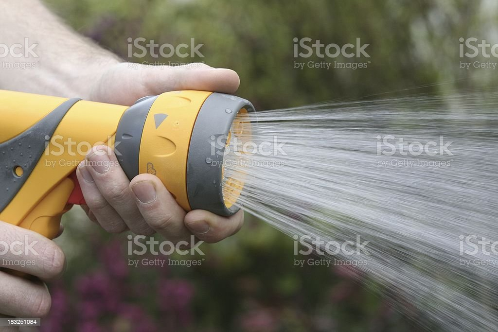 garden irrigation royalty-free stock photo
