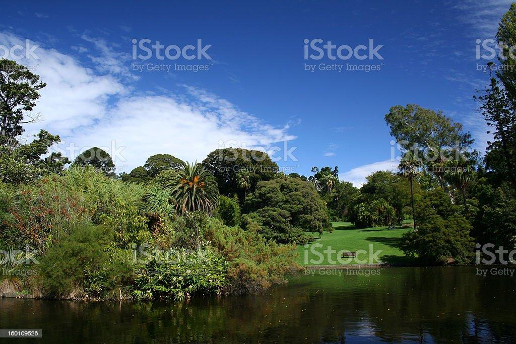 Garden landscape royalty-free stock photo