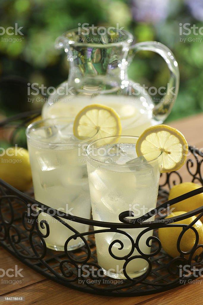 Garden Lemonade royalty-free stock photo
