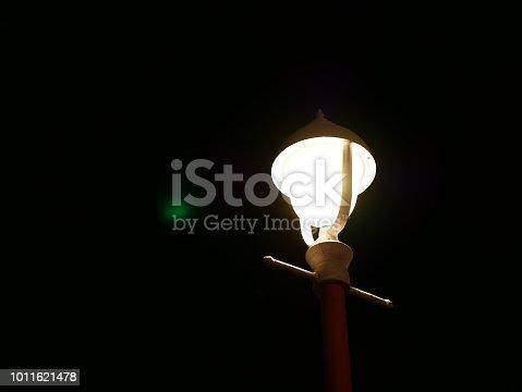 498598201 istock photo Garden Light in Garden Design. 1011621478