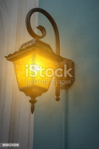 istock garden lights with solar battery 859424006
