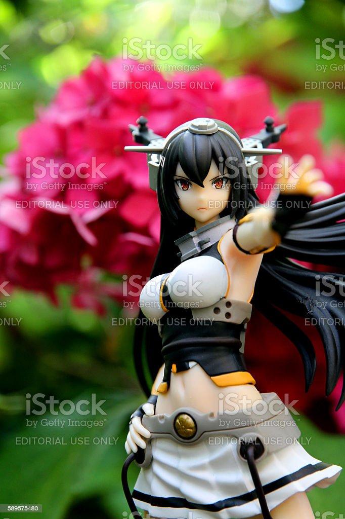 Garden Nagato stock photo