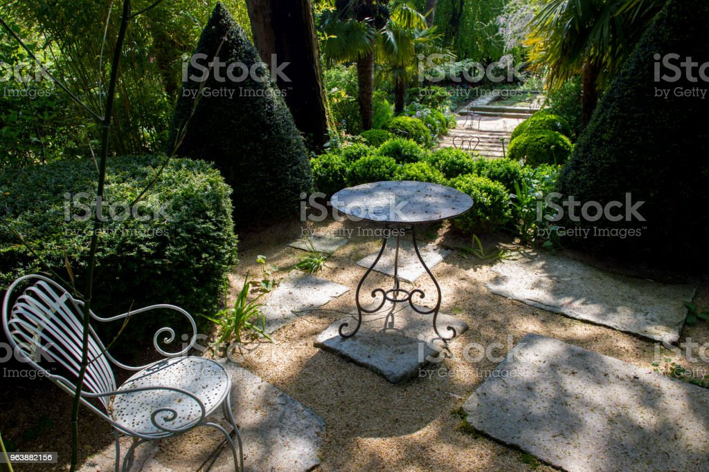Garden of Alexander Thomas - Royalty-free Antique Stock Photo