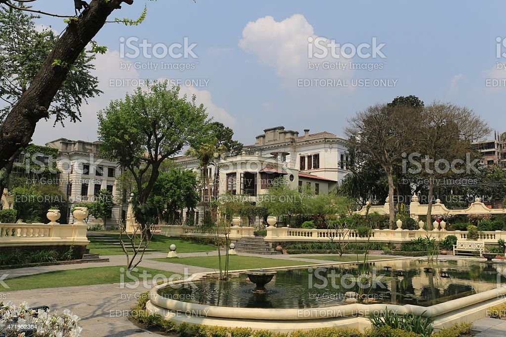 Garden of Dreams, Kathmandu, Nepal royalty-free stock photo