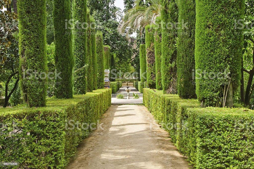 Garden of Poets royalty-free stock photo