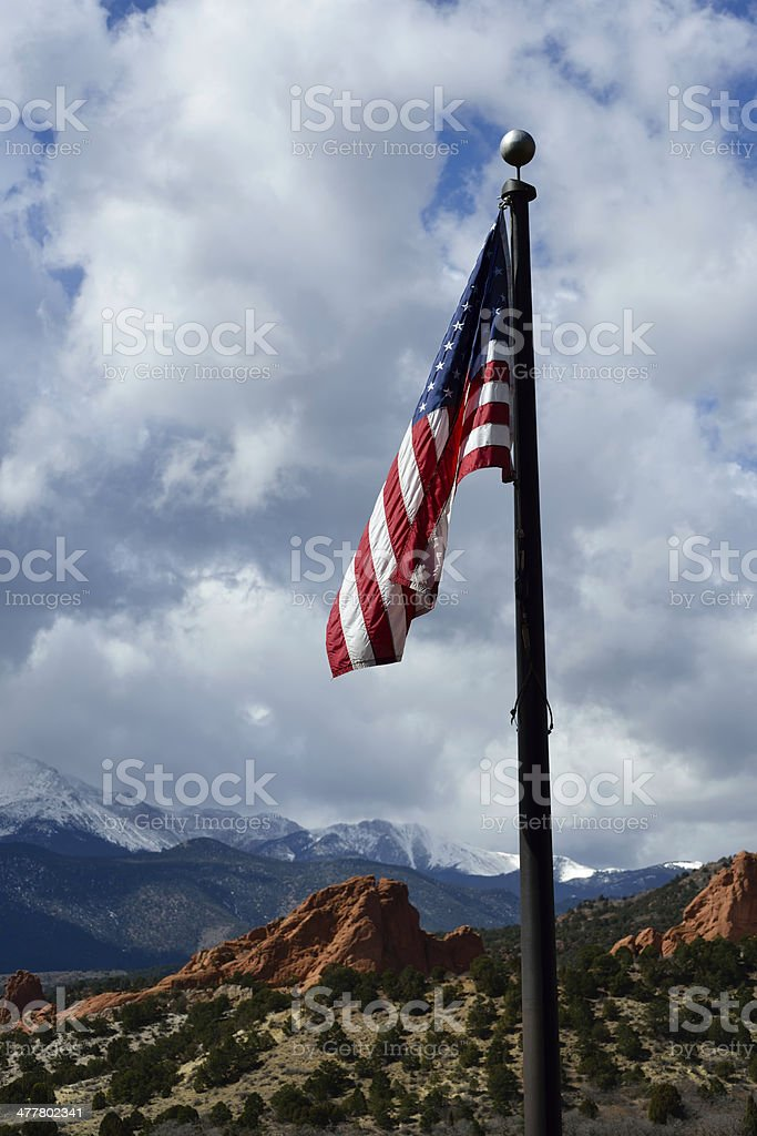 Garden of the Gods, Colorado Springs stock photo