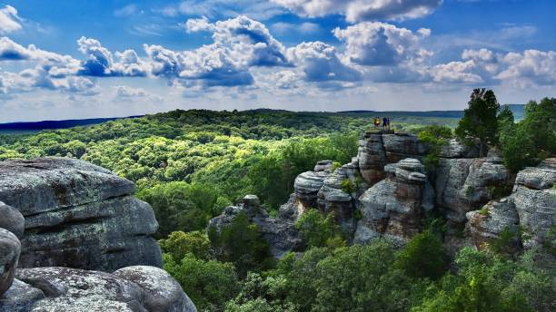 166 Garden Of The Gods Illinois Stock Photos Pictures Royalty Free Images Istock
