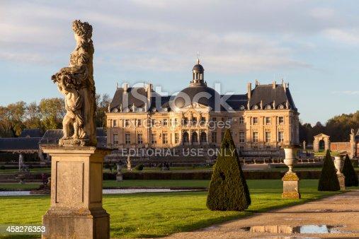 istock Garden of Vaux-le-Vicomte castle 458276353