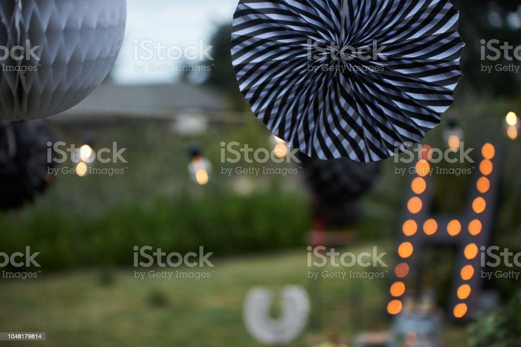Elektrische Weihnachtsbeleuchtung Garten.Gartenparty Dekoration Dekorative Weihnachtsbeleuchtung Aufhängen