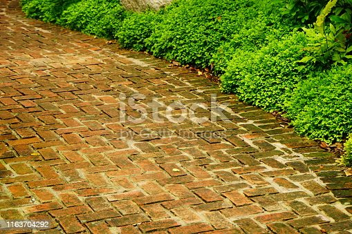 Road, Single Lane Road, Street, Yellow, Brick