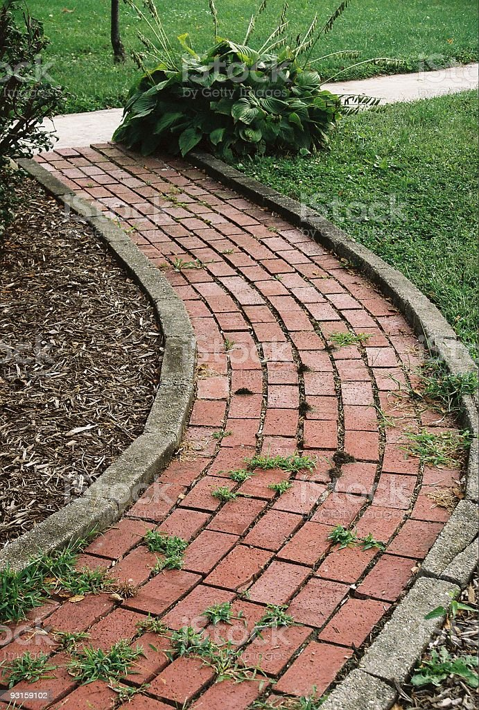 Garden Path royalty-free stock photo