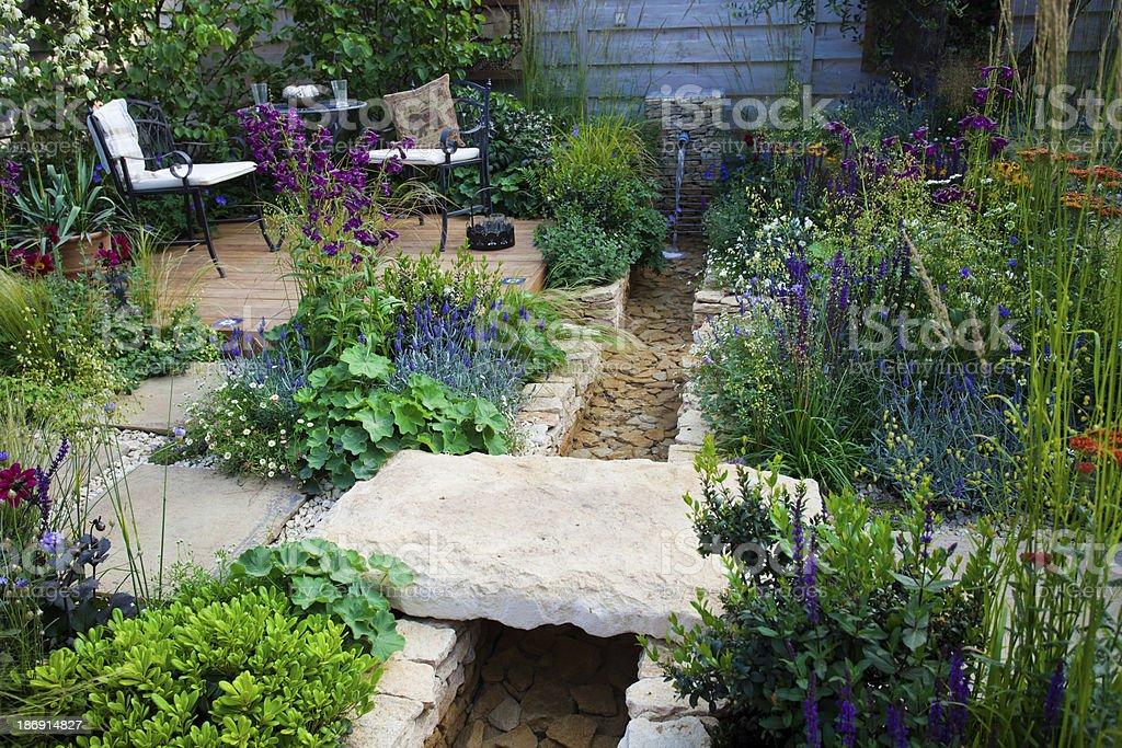 Garten-patio – Foto