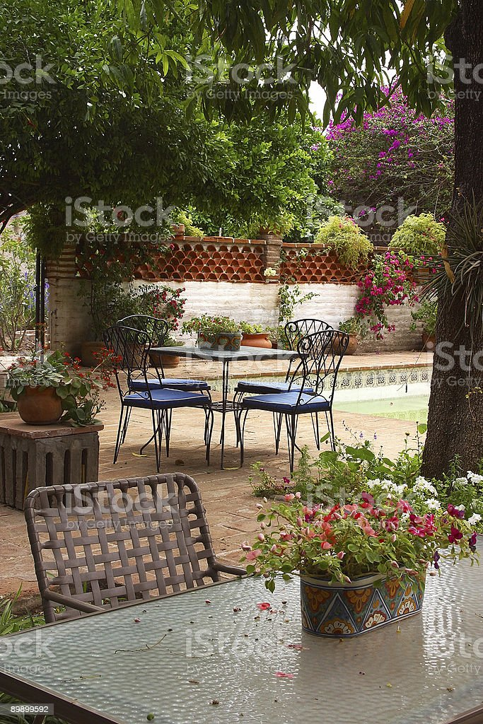 garden royalty free stockfoto