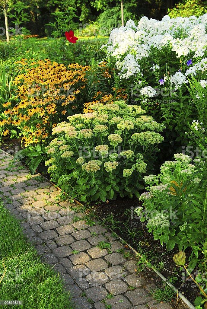 Den Garten Lizenzfreies stock-foto