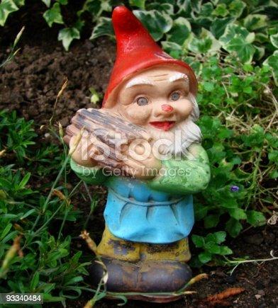 Old garden gnom