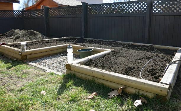 Garden Preparation stock photo
