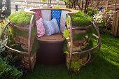 Garden relaxation place