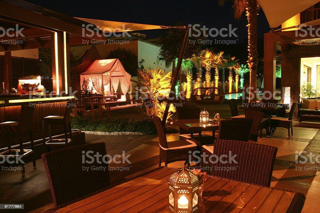 Garden Restaurant Bar Stock Photo Download Image Now Istock