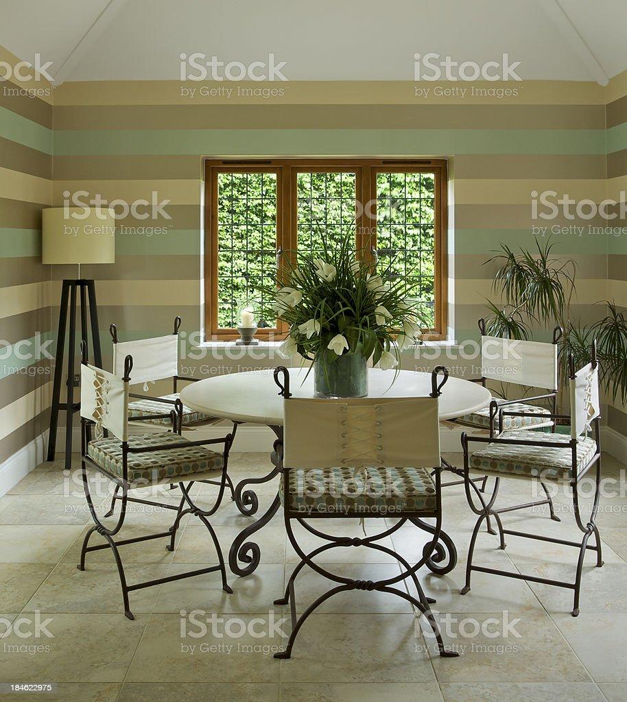 garden room royalty-free stock photo