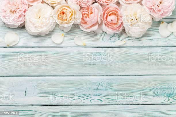 Garden rose flowers on wooden background picture id992795698?b=1&k=6&m=992795698&s=612x612&h=snivmcfumcxnquftfps86j musy5lsembcakd1aup6u=