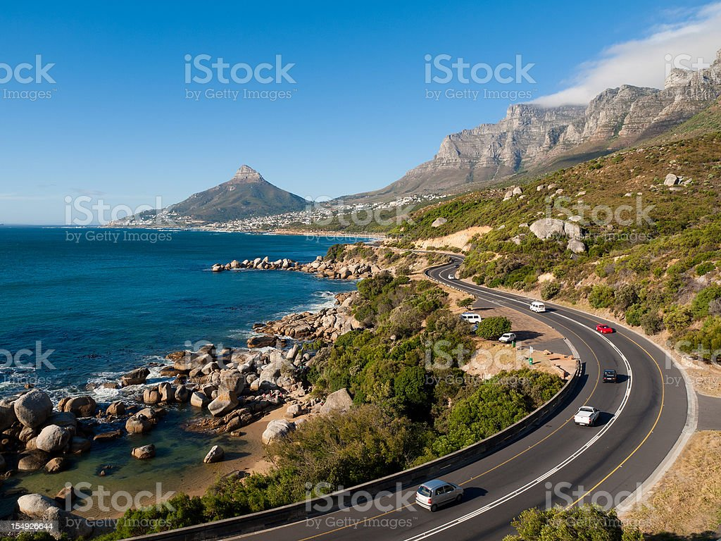Garden Route near Cape Town, South Africa stock photo