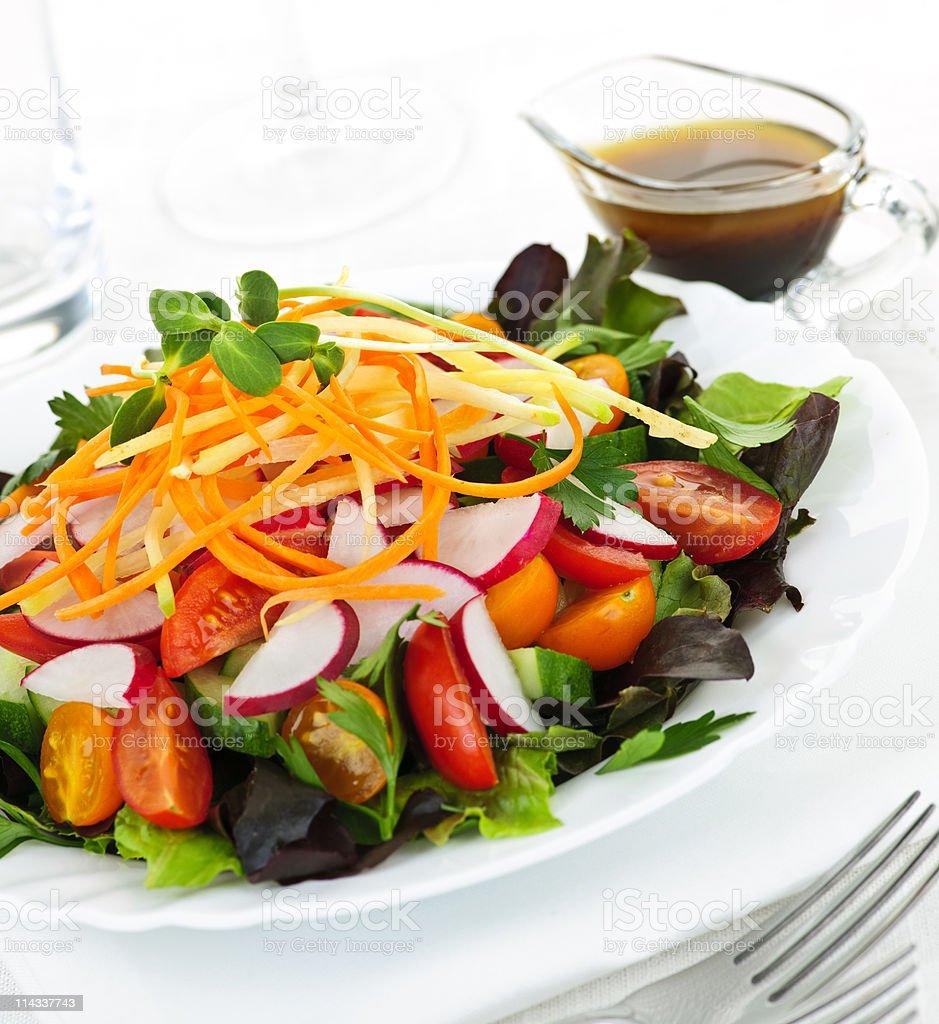 Garden salad royalty-free stock photo