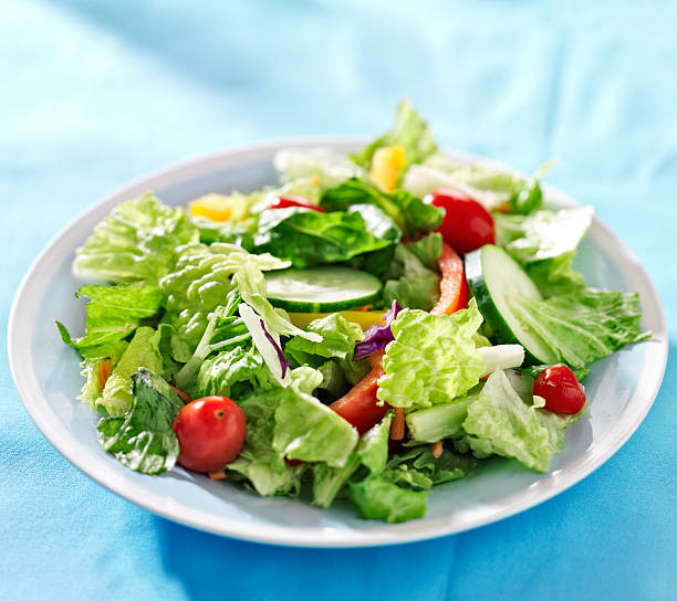 18 517 Green Salad Stock Photos Pictures Royalty Free Images Istock