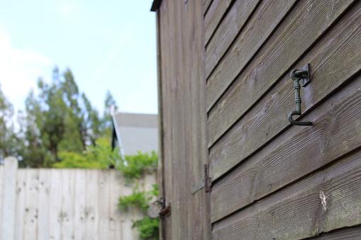 Garden Shed Door Lock