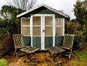 istock Garden shed 184993751