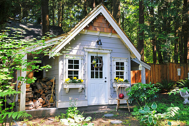 Garden Shed Garden Shed shed stock pictures, royalty-free photos & images
