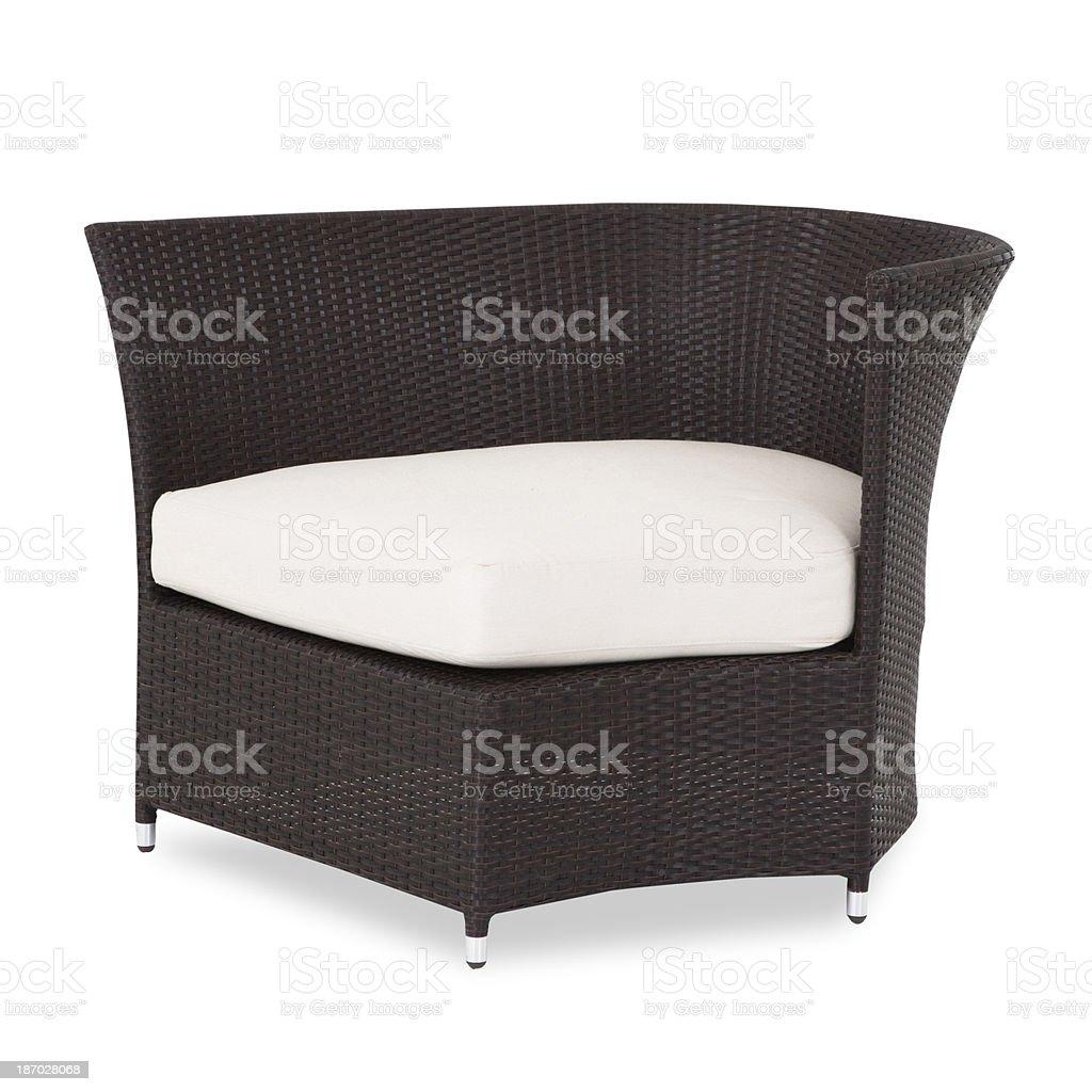 Garden sofa royalty-free stock photo