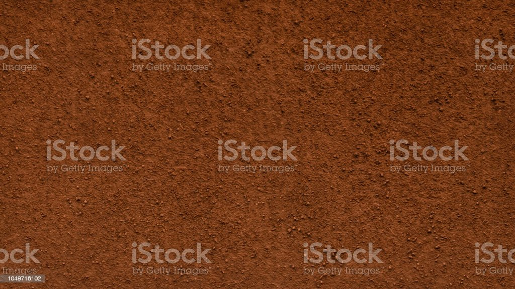 Garden soil texture background stock photo