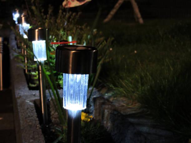 Solar Gartenlampen – Foto