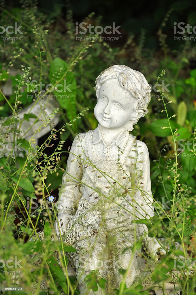 Gartenstatue – Foto