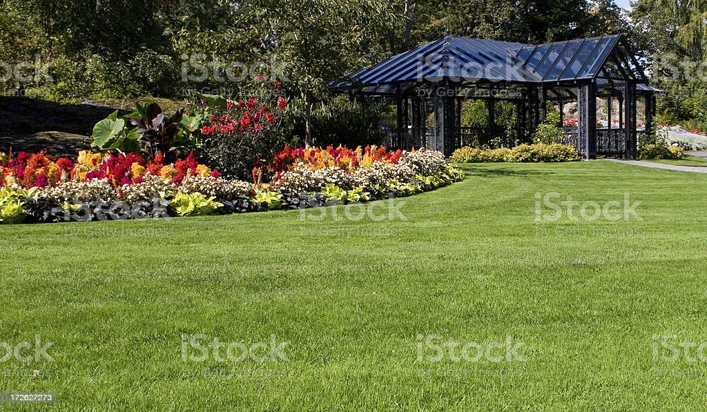 Garden Tea Room in Victoria royalty-free stock photo