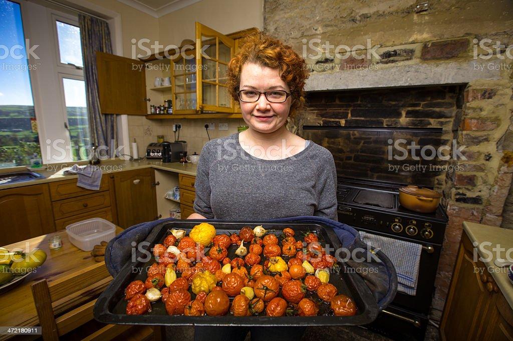 Garden to Oven stock photo