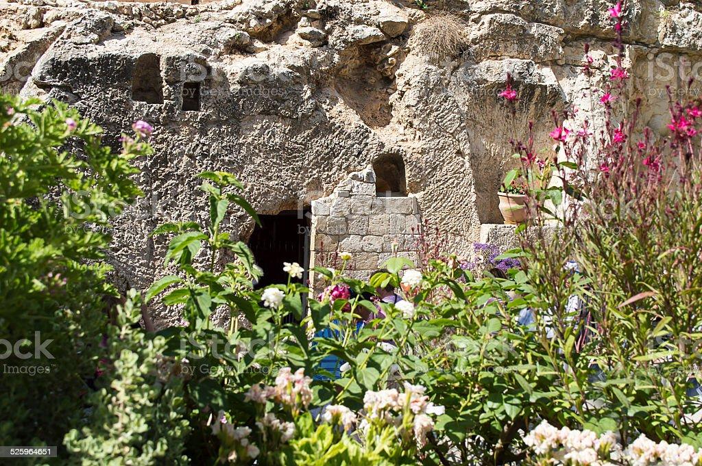Garden Tomb stock photo