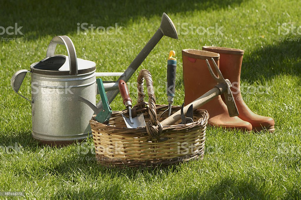 garden tools royalty-free stock photo