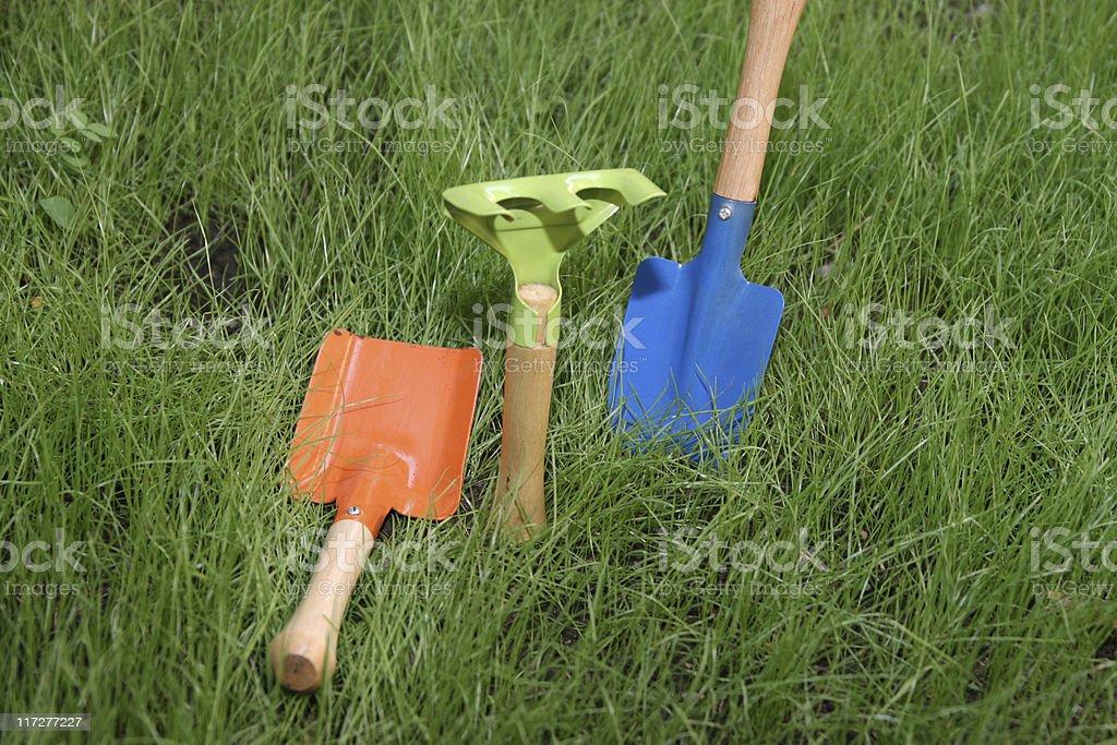 Garden tools series royalty-free stock photo