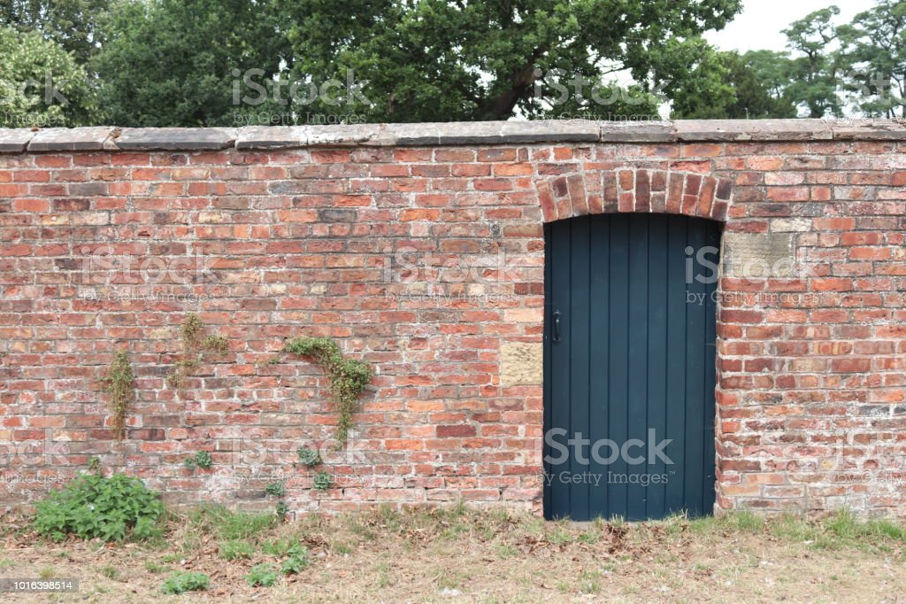 Garden Wall And Gate Stock Photo Download Image Now Istock